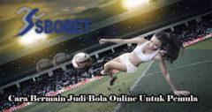 Cara Bermain Judi Bola Online Untuk Pemula
